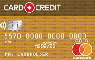 Кредитная карта Кредит Европа Банк CARD CREDIT GOLD