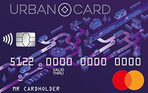 Кредитная карта Кредит Европа Банк URBAN CARD