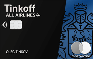 Кредитная карта Тинькофф All Airlines Black Edition